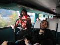 Dimineata in autobuz