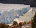 Perito Moreno in bataia soarelui