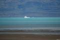 O bucata din ghetar plutind in Lago Argentina