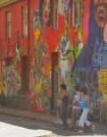 Valparaiso - zidurile cladirilor