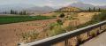Vale cu vii si porumb, in apropiere de Santiago