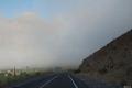 Valle del Elqui, conducem prin ceata
