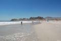 Pan de Azucar, pe plaja