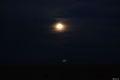 Dimineata, apus de luna