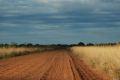 Drum de pamant spre Esteros del Ibera, America de Sud - Argentina Nord