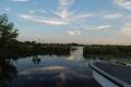 Inainte de apusul soarelui, in camping Ibera