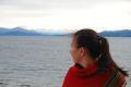 Pe malul lacului, in Bariloche