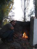 In camping in Gaiman