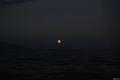 Ilha Grande, rasarit de luna plina din ocean
