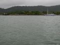 Paraty, excursie cu barca, pe ploaie