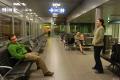 In aeroport in Helsinky