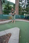 Mini-golf in Queenstown