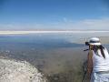 Fotografi la Laguna Chaxa