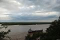 Fluviul Parana, privit din camping