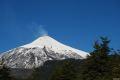 Vulcanul Villarica fumegand, America de Sud - Chile, Sur Chico