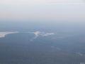 Cascada Iguazu, vedere din avion